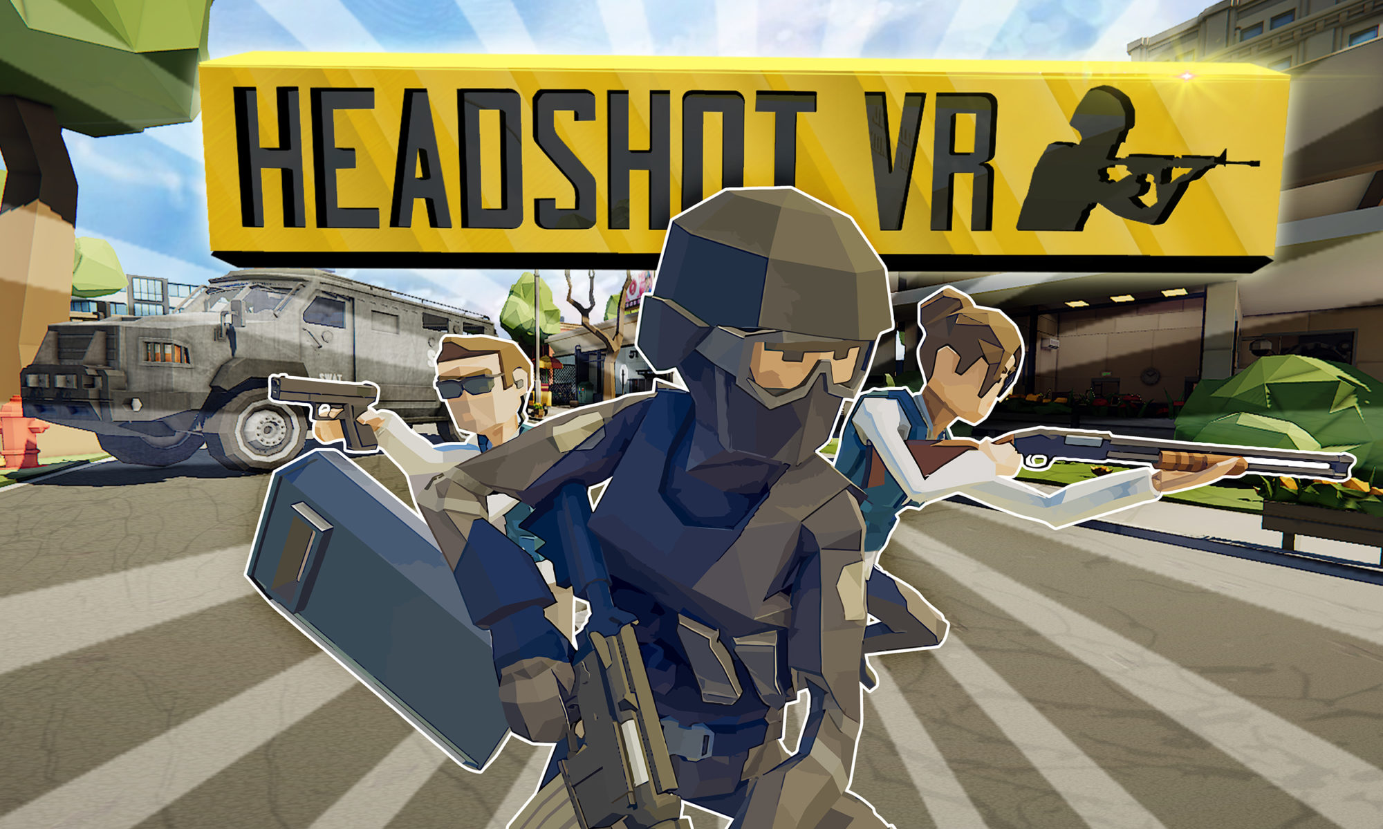 HeadShotVR - multiplayer VR shooter